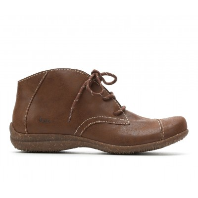 Women's B.O.C. Sabelle Lace-Up Booties Tan Going Out The Top Selling HYNI55206