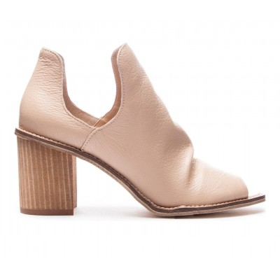 Women's Chinese Laundry Carlita Peep Toe Booties Natural Formal The Most Popular 212T49583