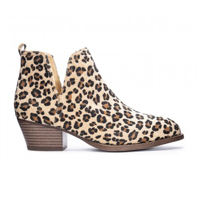 Women's CL By Laundry Cherish Booties Natural Leopard Going Out cool designs 8XSBZ3045