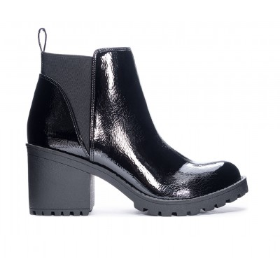Women's Dirty Laundry Lido Lugged Chelsea Boots Smooth Black Formal In Store EC3L8198
