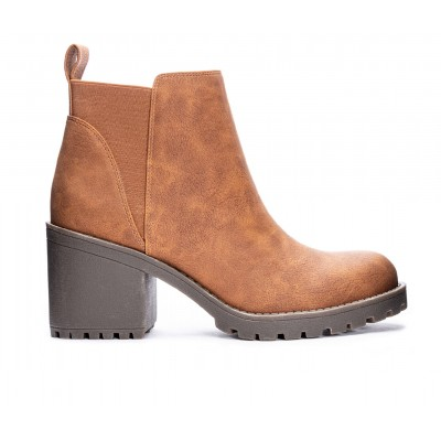 Women's Dirty Laundry Lido Lugged Chelsea Boots Walnut Going Out New Season XLSY16420