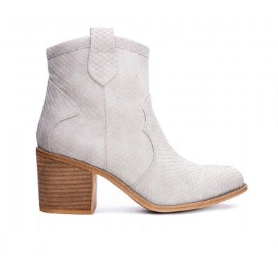 Women's Dirty Laundry Unite Western Booties Grey Snake Business Casual outlet RBCUT7043