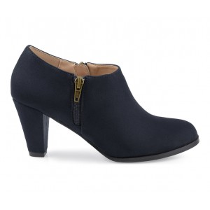 Women's Journee Collection Sanzi Booties Navy Going Out boutique W7PSJ7051