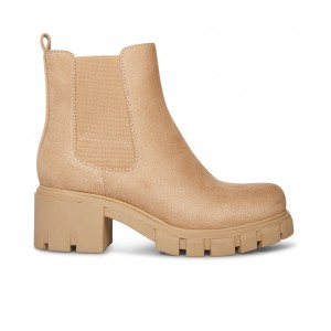 Women's Madden Girl Tessa Chelsea Boots Sand for sale near me MO4LY5825