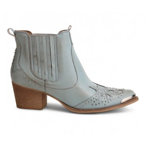 Women's Wanted Lonestar Western Boots Light Blue Going Out cool designs 71ILK4739