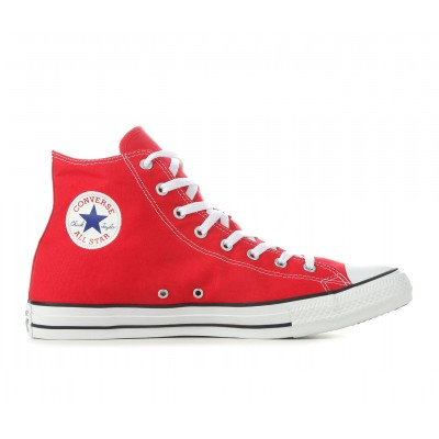 Adults' Converse Chuck Taylor All Star Canvas High-Top Sneakers Red 42GRF7564