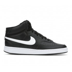 Men's Nike Court Vision Mid Sneakers Black/White Going Out shop online YFCI28327