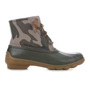 Women's Sperry Syren Gulf Duck Boots Driftwood Camo Going Out on sale online CPG8A7584