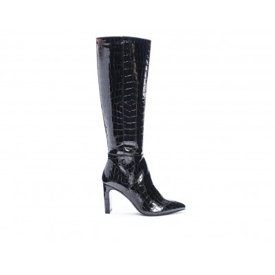 Women's Chinese Laundry Evanna Knee High Boots Black Formal Fit 4S4FT9159