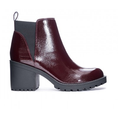 Women's Dirty Laundry Lido Lugged Chelsea Boots Oxblood Formal 7X57D6355