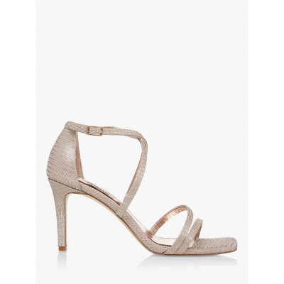 Dune Musical Strappy Sandals Gold Women Going Out 8UIO32755