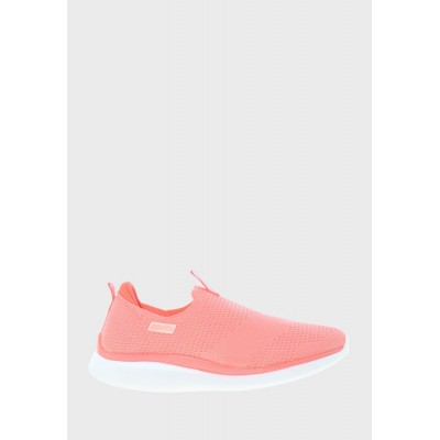 Actvitta Women's pink Candy Slip On 4WI1N3613