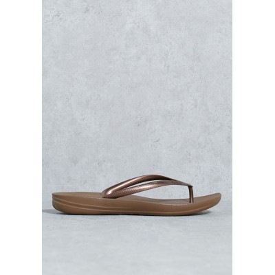 FitFlop Girls browns Iqushion Ergonomic Flip-Flops 11P9A4235