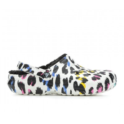 Adults' Crocs Classic Lined Animal Clogs Multi/Leopard Formal ONTHM2200