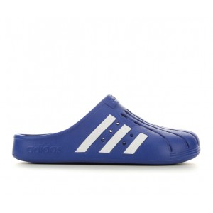 Men's Adidas Adilette Clogs Royal BLue/Wht Going Out MRBE06460